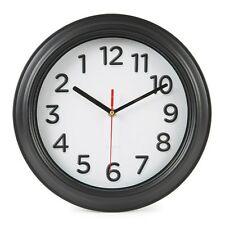 Backwards Clock Reverse Anti Clockwise Office Novelty Fun Confusing Wall clocks