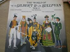 decca The world of W S Gilbert & A Sullivan Vol 1 LP