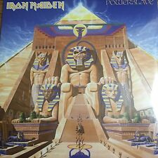 IRON MAIDEN 'POWERSLAVE' NEW 180G LP REISSUE - PARLOPHONE RECS - NEW AND SEALED