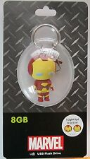 Avengers Kawaii Iron Man USB Flash Drive 8GB Marvel Comics Disney D-Tech NEW