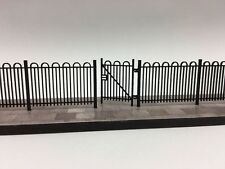 LASER CUT HAIRPIN SCHOOL / PARK RAILINGS OO SCALE 1:76 MODEL RAILWAY - LX102-OO