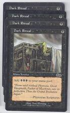 4 x Dark Ritual Urza's Saga mtg