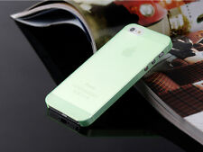 0.3mm Ultra Thin Slim Matte Hard Back Case Cover Skin For Apple iPhone 4 5C SE