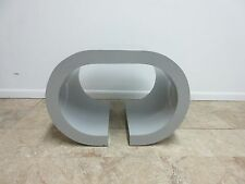 Vintage Mid Century Formica Sculptural Lamp End Table