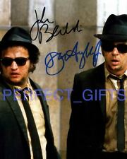 THE BLUES BROTHERS JOHN BELUSHI DAN AYKROYD SIGNED 10X8 REPRO PHOTO PRINT
