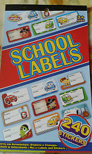 Back to School Craft Stickers Ideal for Children,book Tags,Cards/Picture Making