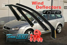 Ford Focus MK2 2004-2011 Estate Wind Deflectors 4 pcs HEKO (15227)