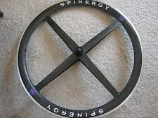 SPINERGY REV-X CARBON REAR WHEEL, 700c CLINCHER, VGC