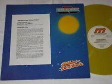 MEISTERSINGER & IHRE KINDER die fahrt zum mond LP 1979 Yellow VINYL KRAUTROCK