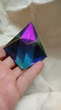 "Wonderful Glass PYRAMID PRISM 2"" for Meditation, Prayer Crystal Home Decor"