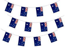 AUSTRALIAN FLAG Bunting AUSTRALIA CALCIO Aussie OLIMPIADI Banner 10M / 33ft