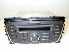 Stereo Head Unit 6000Cd-Code Unknown-(ref.611) 08-11 Ford Focus 1.6 tdci