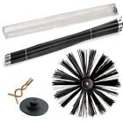 DRAIN ROD SET + CHIMNEY SWEEP SWEEPING BRUSH