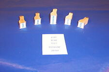 NUMBER STAMPS for LIONEL Train  Engine 726 736 773 Hudson 2426W Tender 2671WX