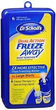 Dr. Scholls Dual Action Freeze Away Wart Remover 7 Each (Pack of 2)