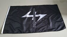 WOLF HOOK WOLFS ANGLE RUNE AND SWORD 3 X 5FT FLAG VIKING PAGAN FUTHARK ODINIST