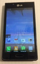 LG Optimus Showtime L86C - 2GB - Black (Straight Talk) Nice 3G Android #6973