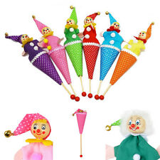 Clown Puppet Toy  Baby Educational Pop Up Telescopic Doll Styles Random SL