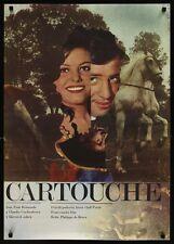 CARTOUCHE Czech A1 movie poster JEAN-PAUL BELMONDO CLAUDIA CARDINALE ZIEGLER Art