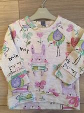 NEXT Girls Sweet Pea Jumper Age 1.5-2 Years BNWT Toddler.