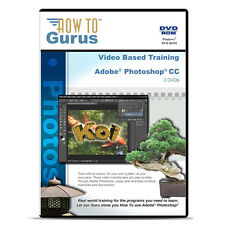 New! Adobe Photoshop CC Tutorial Training 21 hours on 3 DVDs English Language