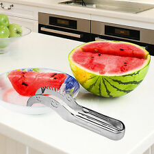 Watermelon Slicer Knife Cutter Corer Server Scoop Stainless Steel Tool Kit