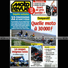 MOTO REVUE N°3319 HONDA VFR 800 GL 1500 SUZUKI GSXF 750 LS 650 GS 500 DAYTONA 98