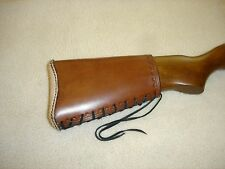 SASS leather RUGER 1022 rifle butt stock cover(20 days to get it done)