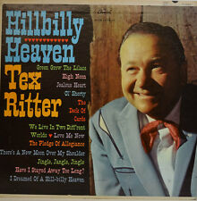 HILLBILLY HEAVEN - TEX RITTER - CAPITOL RECORDS T 1623 (X271)