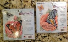Dimensions Counted Cross Stitch Butterfly Collection, 2 New Kits