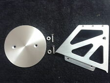 CNC ALUMINIUM  PULLEY COVER 29T AND CASING BUELL X1 LIGHTNING ( EUROPEAN MODEL )