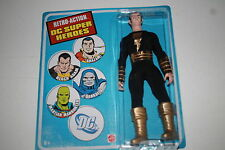 DC RETRO ACTION BLACK ADAM   8 INCH ACTION FIGURE; MATTEL MOMSC 2010; WAVE 4