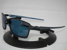 NEW OAKLEY TINCAN CARBON FIBER SUNGLASSES OO6017-04 MATTE BLACK / ICE IRIDIUM