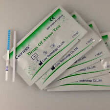 10 x CANNABIS MARIJUANA SKUNK DRUG SCREENING/TESTING TEST KIT ( STRIPS )