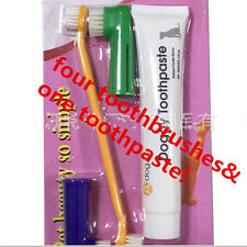 Pet Dog Cat Toothbrush Toothpaste Kit Set