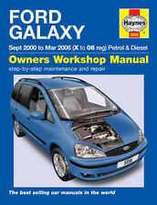 Ford Galaxy Repair Manual Haynes Manual  Workshop Service Manual  2000-2006 5556