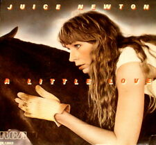 """JUICE NEWTON """"A LITTLE LOVE/Waiting For The Sun"""" RCA 13823 (1984) 45 & PIC SLV"""