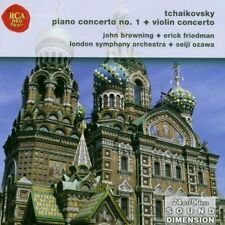 Tchaikovsky Piano Concerto No.1 & Violin Concerto John Browning & Erick Friedman