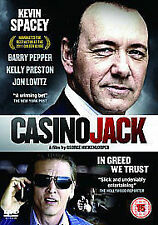 Casino Jack DVD Kevin Spacey Barry Pepper New and Sealed Original UK Release R2