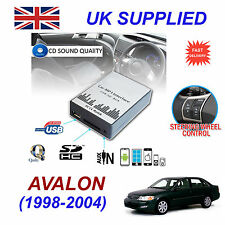 Avalon 1998-04 mp3 USB SD CD AUX Input Adattatore Audio Digitale Caricatore CD Modulo