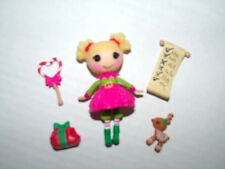 Lalaloopsy Mini Doll HOLLY SLEIGHBELLS Original Complete Christmas Target Exc.