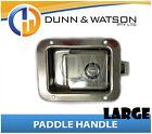 Large Paddle Handle (Lock, Latch) x1 Camper Trailer, Caravan, Toolbox, Motorhome