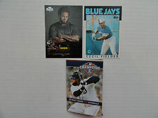 Cecil Fielder `86 Rookie Card `12 Prince Fielder Black Friday &`13 Sked w/Prince
