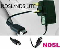 MAINS WALL CHARGER ADAPTER POWER SUPPLY PLUG FOR NINTENDO DS LITE NDS DSL * NDSL