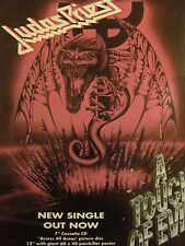 Judas Priest, A Touch of Evil, Full Page Vintage Promotional Ad