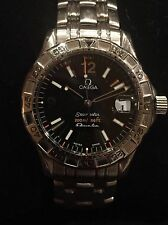 OMEGA Seamaster 200M Omegamatic 2514.50 Automatic Quartz Men's Watch Black