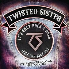 TWISTED SISTER - ITS ONLY ROCK & ROLL (BUT WE LIKE IT)  2 CD NEW+