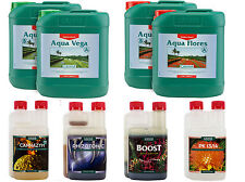 Canna Aqua Vega And Aqua Flores 5L Nutrient Kit