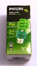Energy Saver Philips 13W Mini Twister Green