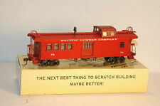 Ho Pacific Lumber Caboose Kit  Logging New in Box